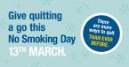 Give quitting a go this No Smoking Day (March 13)
